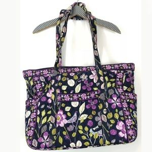 Vera Bradley Get Carried Away Tote Travel Bag